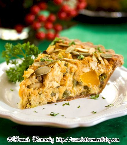 Over 50 Dairy-Free Recipes for Thanksgiving Leftovers (Vegan Thanksgiving Quiche pictured)