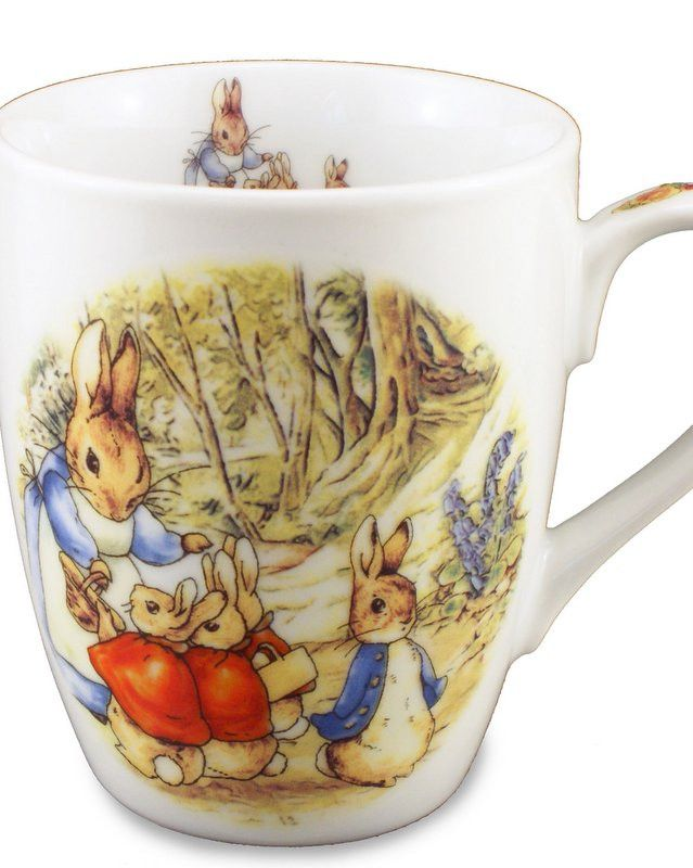 Porcelain Peter Rabbit Mug