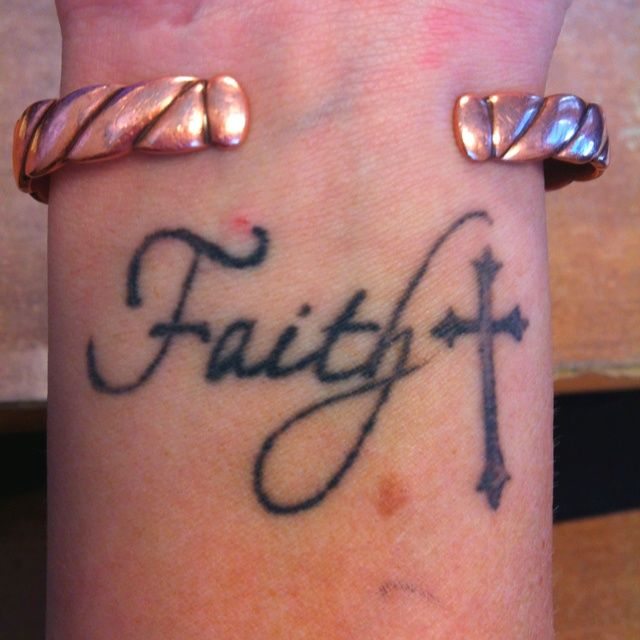 My faith wrist tattoo: Faith Wrist Tattoos Tattoo Inspiration Quotes ...