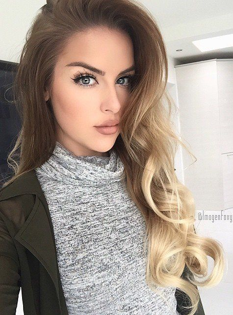 Excellent 1000 Ideas About Ombre Hair On Pinterest Hair Ombre And Hair Short Hairstyles For Black Women Fulllsitofus