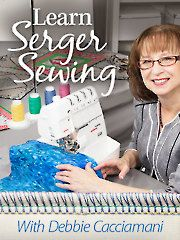 Learn Serger Sewing with Debbie Cacciamani-Annie's Online Class. Watch a free preview here: https://www.anniescatalog.com/onlineclasses/detail.html?code=SEV22