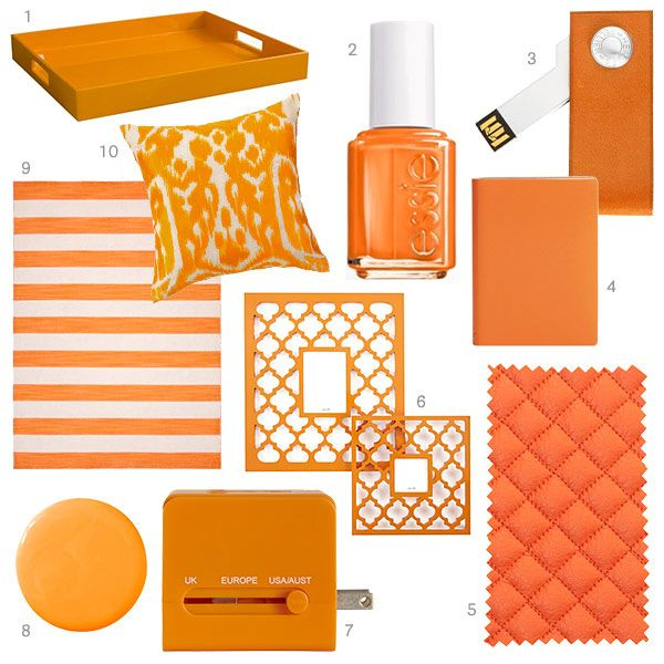 1000 Ideas About Orange Home Decor On Pinterest: 1000+ Images About WHICH COLOR DO YOU WANT TO LIVE WITH