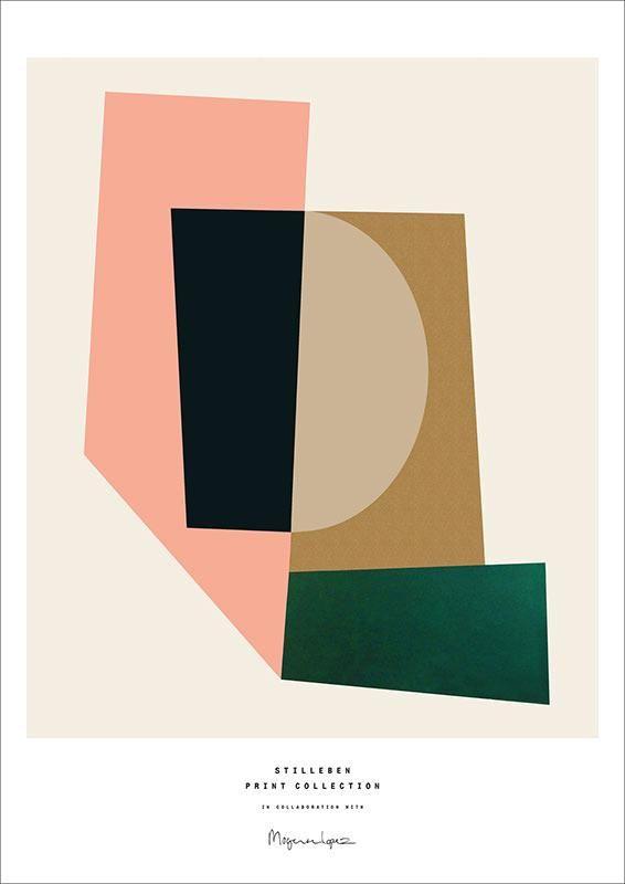 Stilleben Print Collection Berit Mogensen Lopez Puzzle Print Poster Plakat Prints Artwork Poster Prints