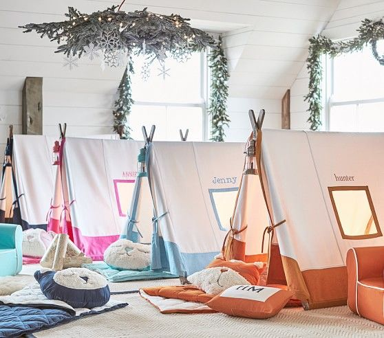Gray A-frame Tent | Pottery Barn Kids