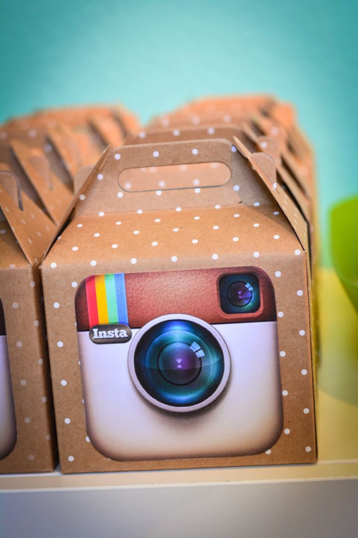 Instagram Themed Joint Birthday Party with Lots of Really Cute Ideas via Kara's Party Ideas Kara Allen KarasPartyIdeas.com #instagramparty #...: