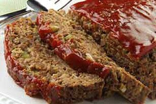 """BBQ """"Meatloaf"""" Bake recipe    Been craving for some meatloaf!! YUM, I can almost taste it!"""