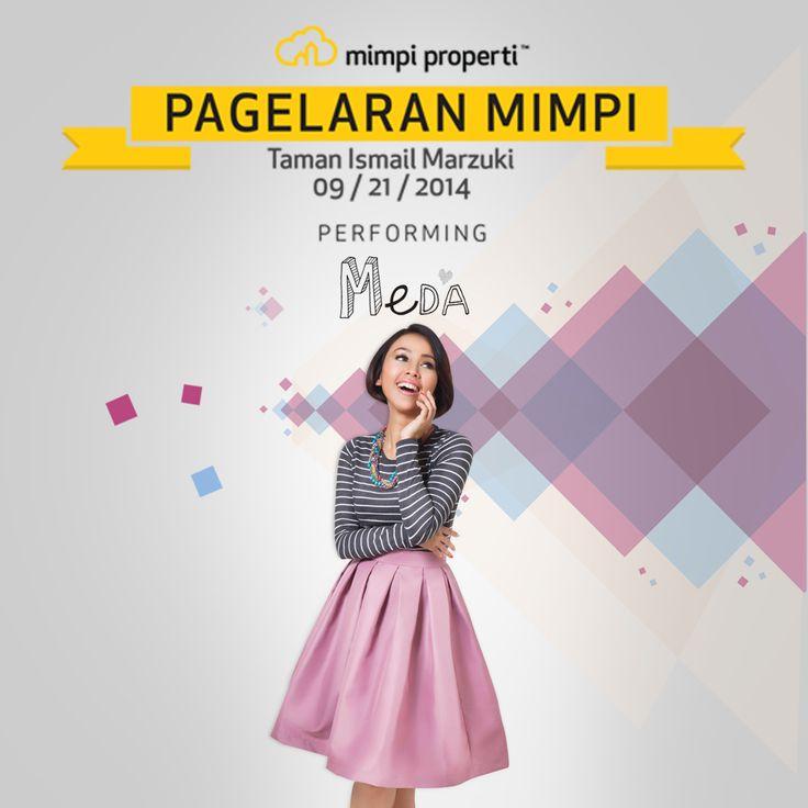 "Live Musik Performance dari @Medakawu juga meramaikan ""Pagelaran Mimpi"" diTaman Ismail Marzuki pada 21 September 2014"