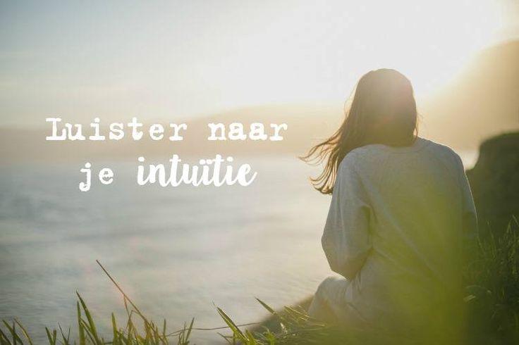 Luister naar je intuitie: Dat zal je niet alleen helpen in het dagelijks leven, het kan ook een groot verschil maken in jouw gezondheid.