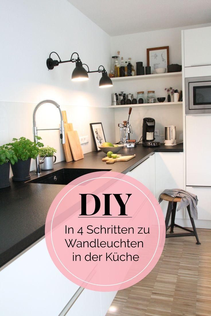 DIYnstag: Kleines Küchen-Makeover für neue Wandleuchten bei Lunchen