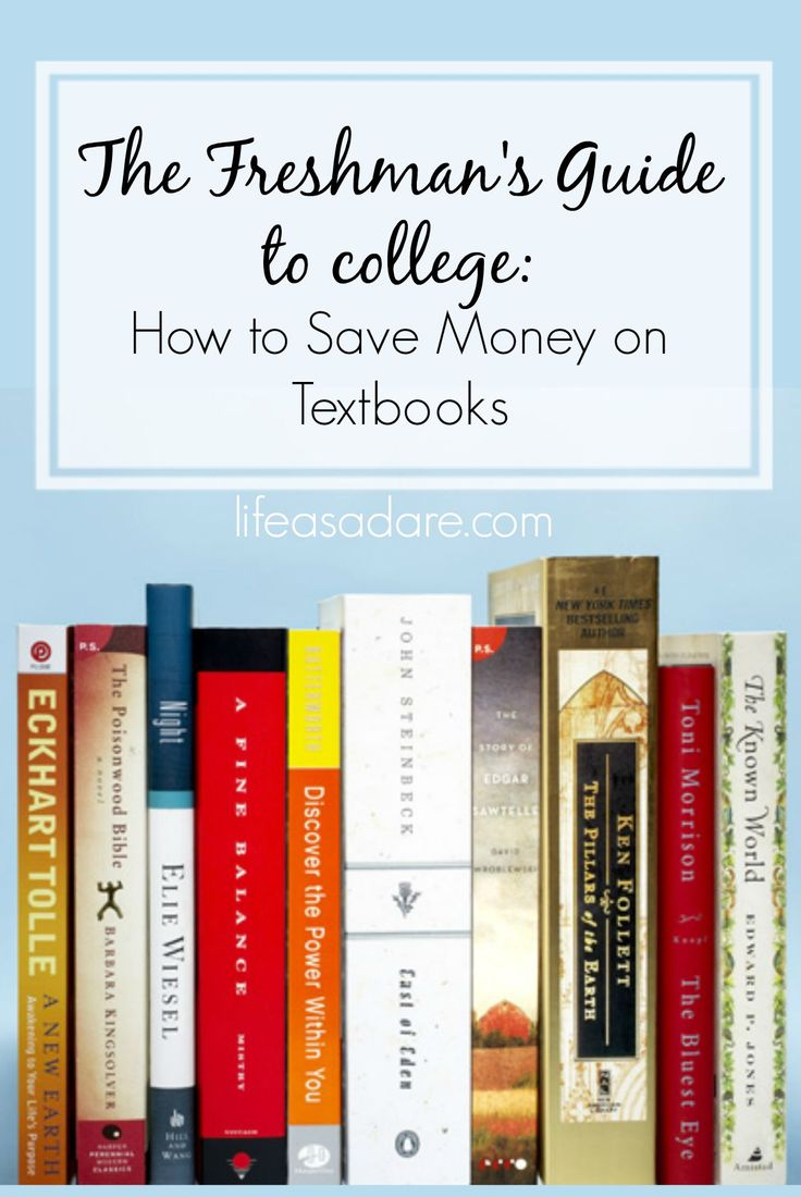 Buying textbooks is such a hassle, and an expensive one at that! Here are some tips for buying textbooks at a much lower price than the bookstores are offering, potentially saving hundreds of dollars! Read the rest at lifeasadare.com