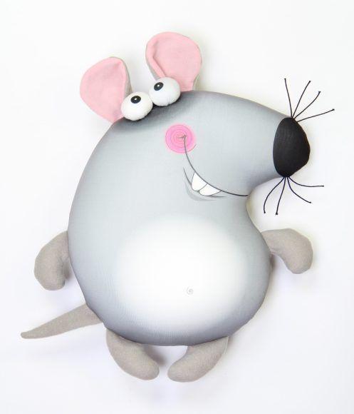 Антистрессовая игрушка-подушка Пучеглазы в ассортименте