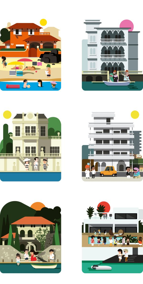 Monocle Summer by Hey , via Behance