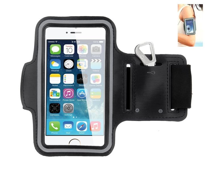 iPhone 6 Armband, Waterproof iPhone 6 4.7 Armband, Sport Armband Case with Key Holder and Headphone Jack Hole for Apple iPhone 6 4.7 inch, iPhone 6 Armband for Sports (Running, Jogging, Gym, Cycling, Walking, Fishing, Exercise,Fitness and etc.) (Black+Gray Reflective Strip). pecially designed for iPhone 6/6s, Comfortable to move around with. Never Chafe Skin - Ultra soft neoprene is like velvet to the touch. Material: Lightweight super soft and comfortable neoprene that is molded to twist...