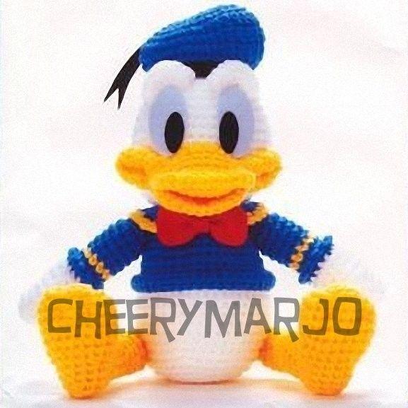Amigurumi Daffy Duck : Crochet Donald Duck Crochet ~ Kid items Pinterest ...