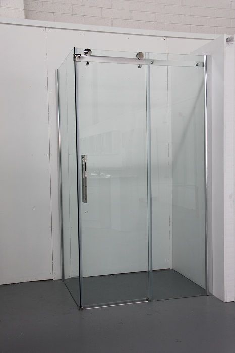 $699.00 PACIFIC BATHROOM - **GLIDING DOOR**Shower Screens - - Caldo Shower Screen Enclosure 1200
