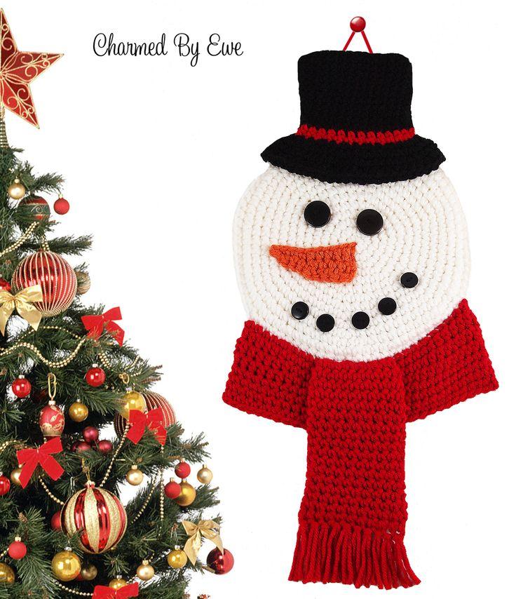 Mejores 93 imágenes de Holiday Crochet en Pinterest | Adornos ...