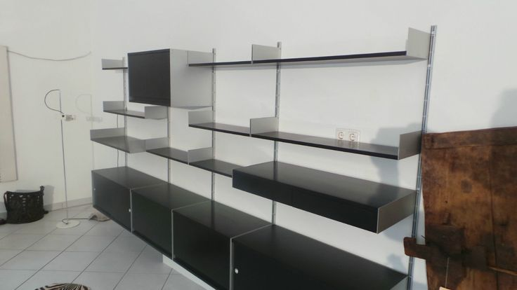 vitsoe 606 shelving in black vitsoe pinterest shelving and black. Black Bedroom Furniture Sets. Home Design Ideas