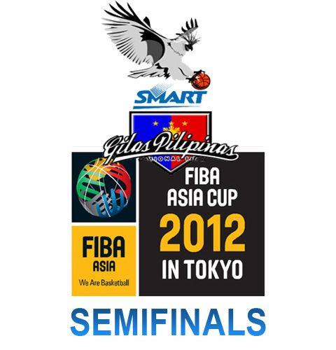 Smart-Gilas Philippines loss against Iran in FIBA Asia Cup 2012 Semifinals
