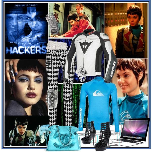 """Young Angelina Jolie as a Hacker """"Mess with the best, die like the rest"""