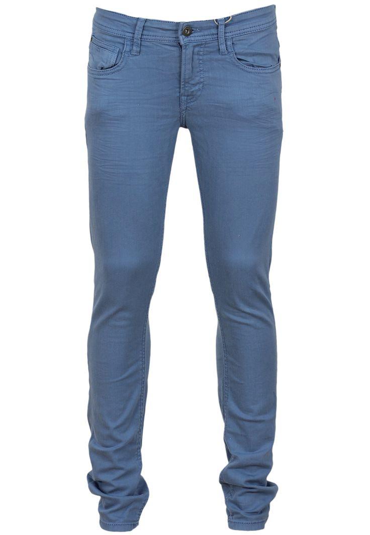 Pantaloni Bershka Collection Blue - doar 69,90 lei. Cumpara acum!