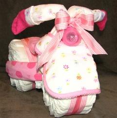 DIY: cadeau kraamtijd - Luier-driewieler