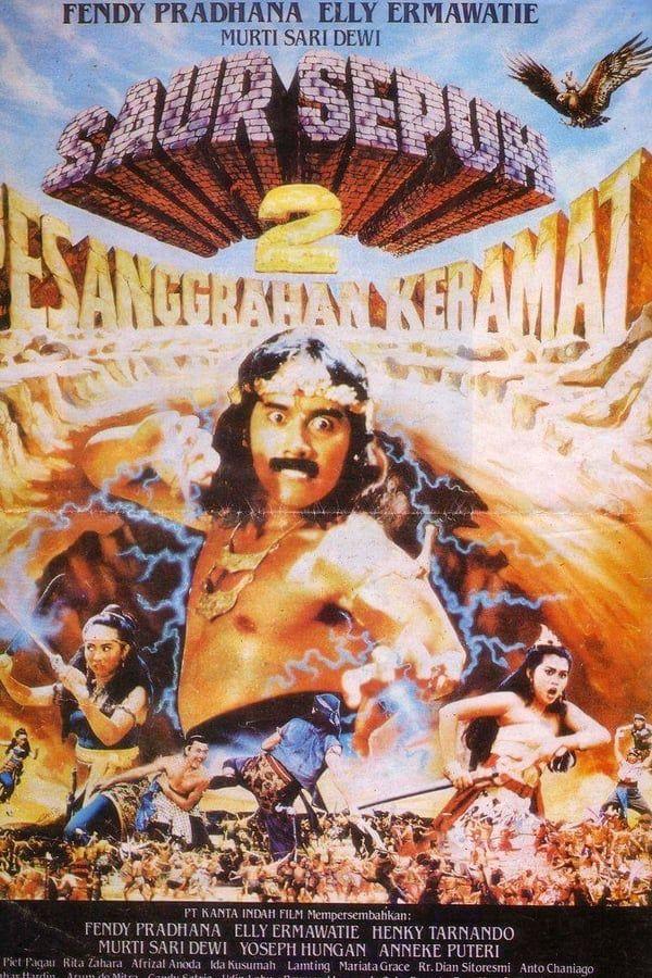 Saur Sepuh 2 Pesanggrahan Keramat 1989 Director By Imam Tantowi Poster Film Film Hiburan