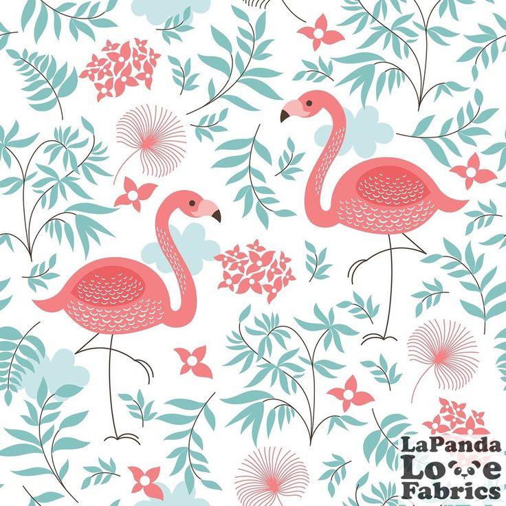 PRE ORDER ~ LaPanda Love Sweet Flamingos