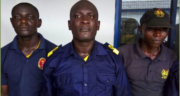 Nigerian Navy arrests fake officers - TV360 Nigeria