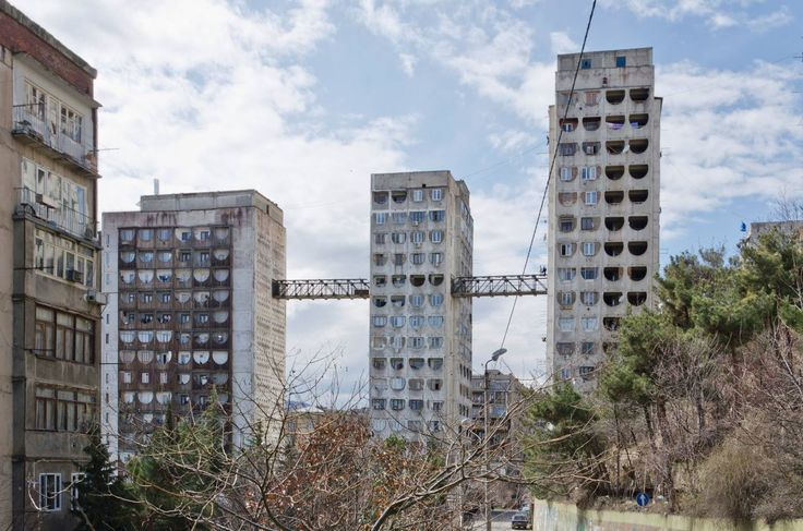 EUD I Otar Kalandarishvili, G. Potskhishvili: Social housing, Tbilisi I 1974 - 1976