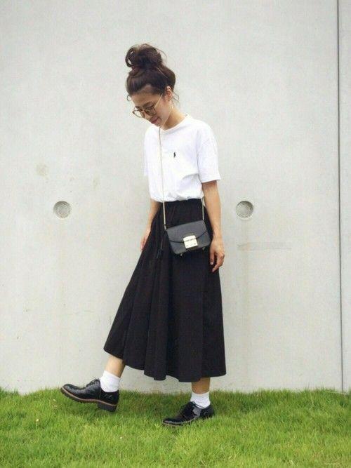 NANAさんの「Polo Ralph Lauren Cotton-Jersey T-Shirt(Polo Ralph Lauren)」を使ったコーディネート
