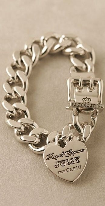 Juicy Couture Bracelet #words #bracelet http://www.loveitsomuch.com/
