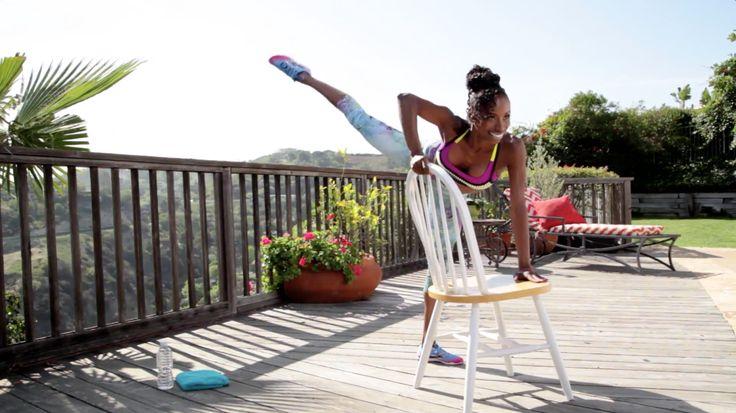 8 Exercises You Can Do With a Chair   - Cosmopolitan.com