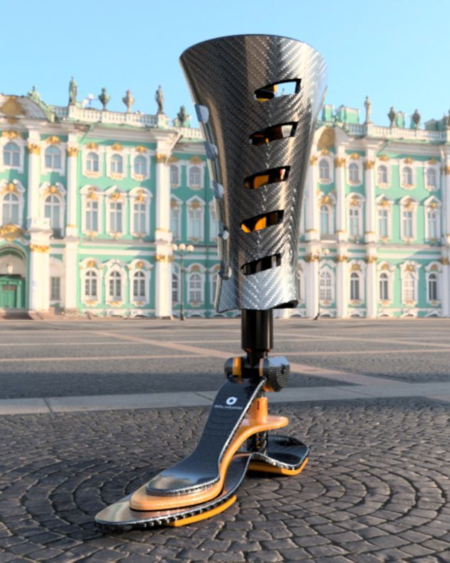 Transtibial Prosthesis With Foot Flexiplus G 150 Appendix Polycentric Knee 150k 2 Delta In 2021 Prosthetic Leg Robot Leg Feet