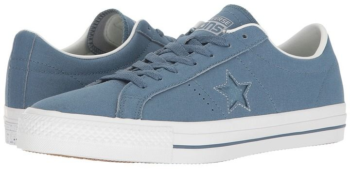 Converse Skate - One Star Pro Ox Suede Backed Canvas Men's Skate Shoes