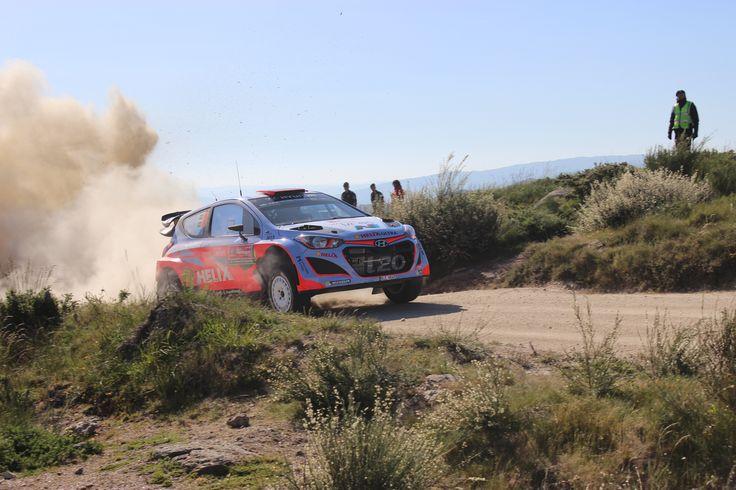 Dani Sordo  WRC Rally de Portugal 2015