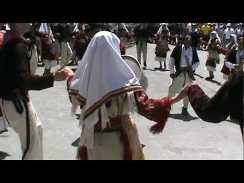 Galichnik Wedding Festival 2012 in Macedonian