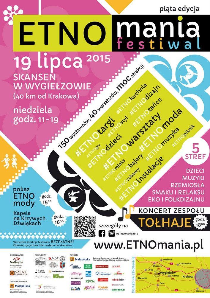 Plakat promocyjny ETNOmanii