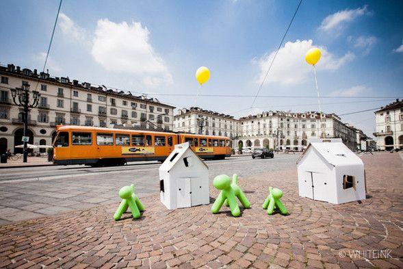 Yellowbasket.it  at Piazza Vittorio Veneto, Turin. with @Kidsonroof, @Maggie Jones