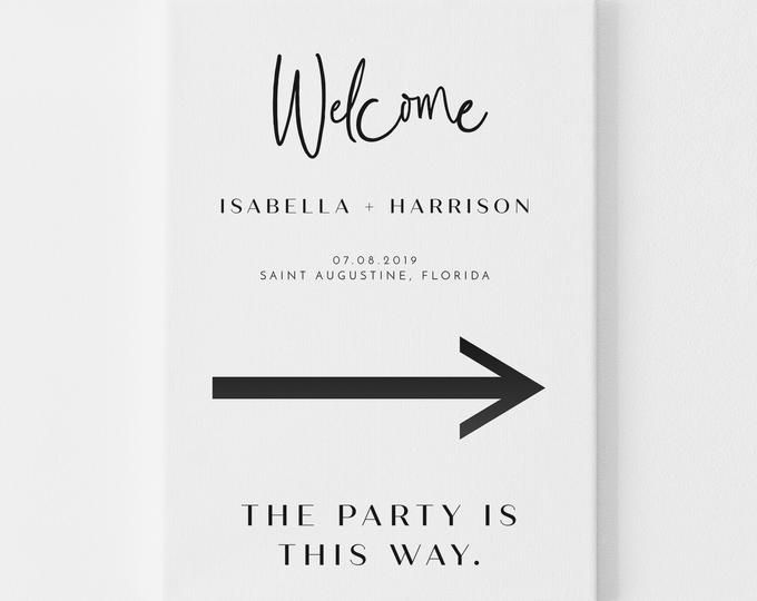 Printable Oval Wedding Reception Welcome Sign Etsy Wedding Name Cards Printable Wedding Invitations Engagement Party Banners