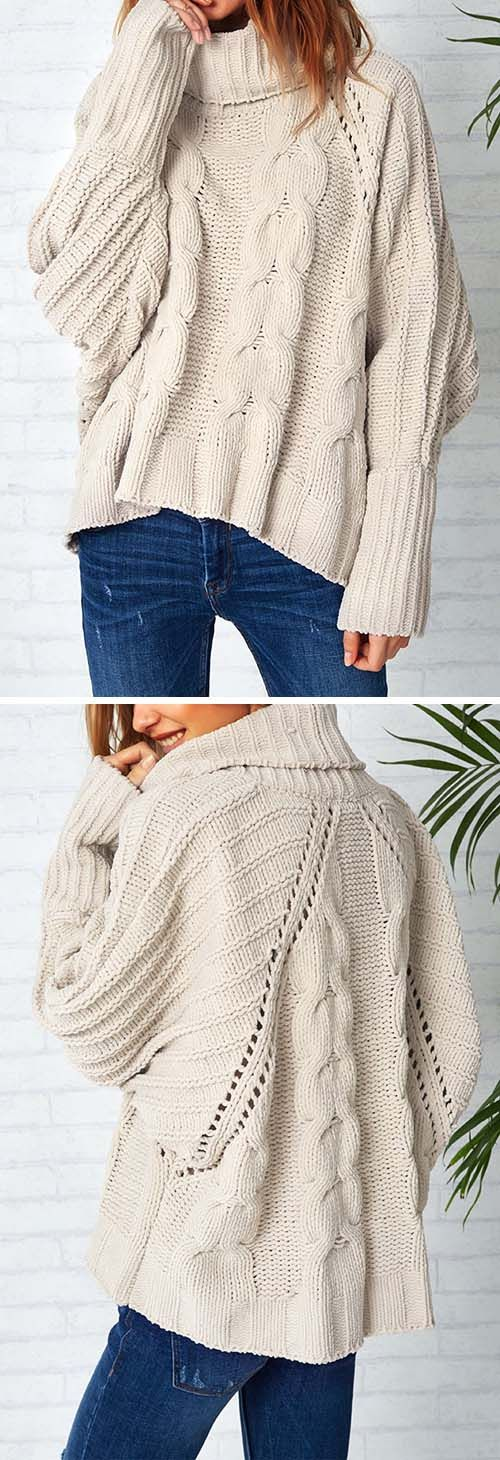 Take it with Only $26.99&easy refund! Every other sweater should take notes on how to be as awesome one! You can't overlook the perfect of the length and cut of it. Plus can all see how cute the design is!
