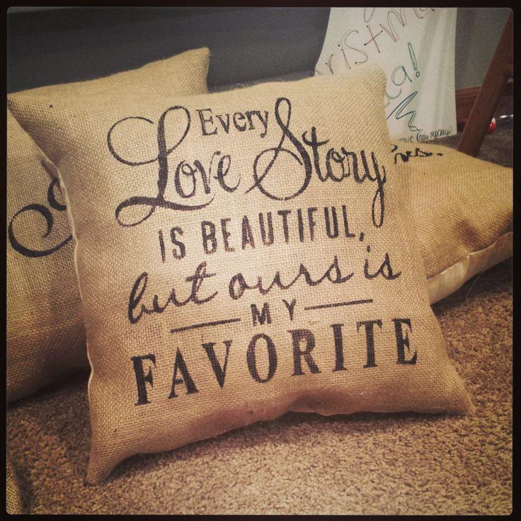 1000+ ideas about Burlap Throw Pillows on Pinterest