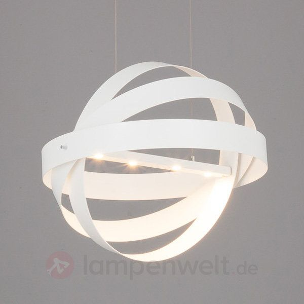 Led Lampen Kaufen: Textilpendelleuchte Pikka Mit E27-LED-Lampen Kaufen