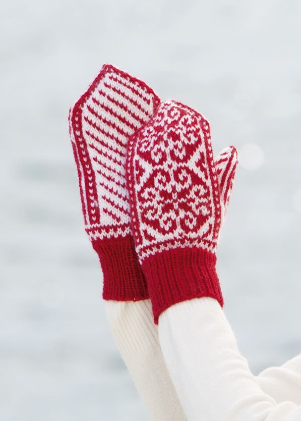Mittens designed for Viking of Norway