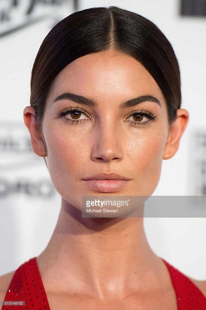 Model Lily Aldridge attends the 2016 Sports Illustrated Swimsuit Launch Celebration at Brookfield Place on February 16, 2016 in New York City.