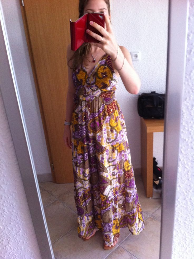 Floral maxi. Enjoy Youself