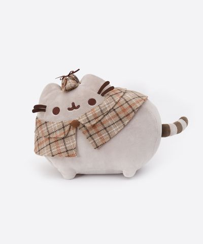 Detective Pusheen plush toy - Hey Chickadee