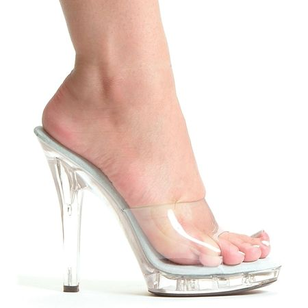 M-Vanity Clear High Heels