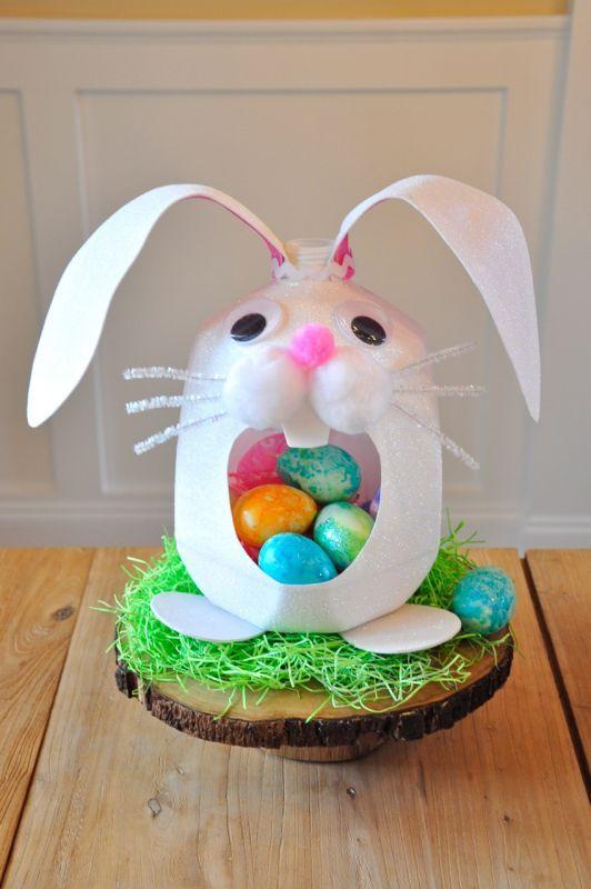50 best egg cellent eco friendly easter images on pinterest easter dudleys milk jug basket negle Gallery