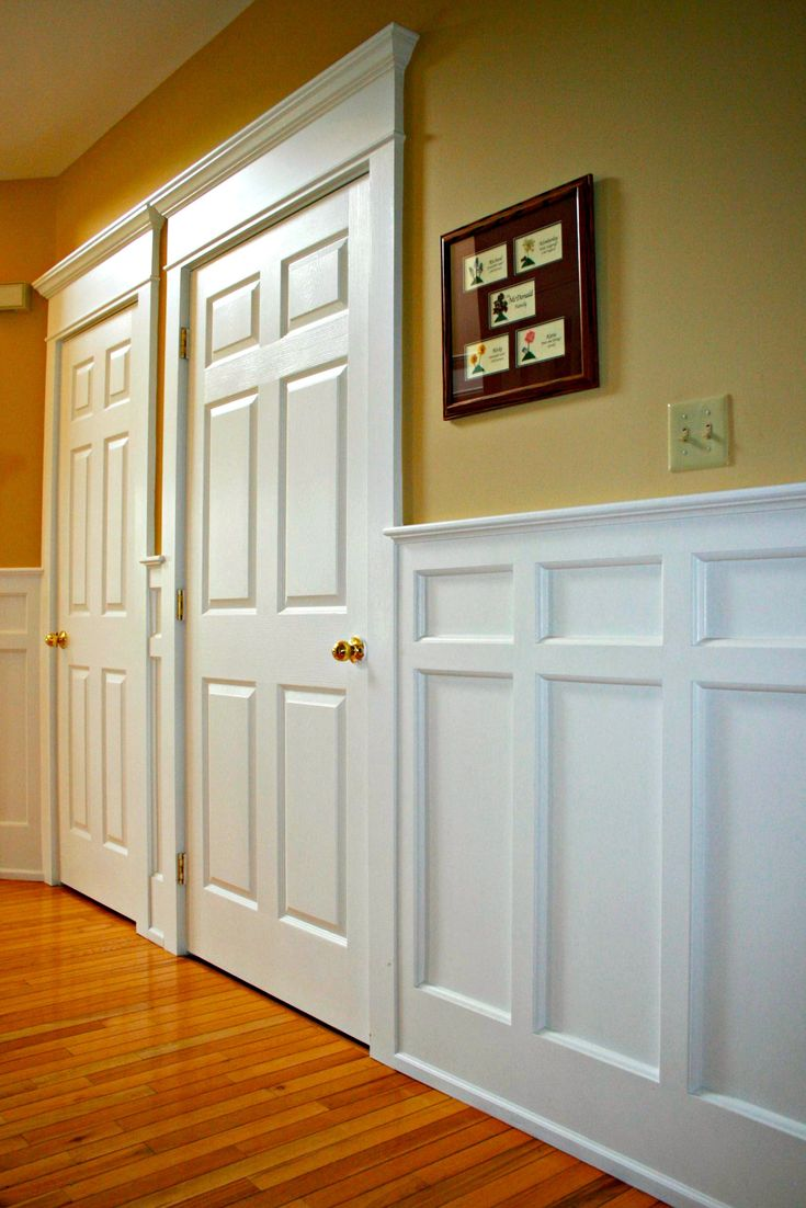 Paneled Walls Pics: 12 Best Faux Wainscoting