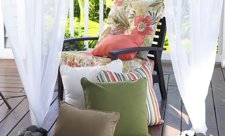 Patio Sitting Area Outdoor Living Space Outdoor Living Space